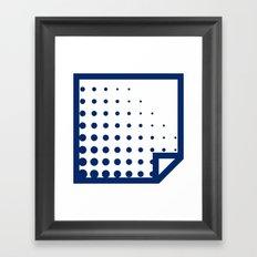 Lichtenswatch - Entablature Framed Art Print