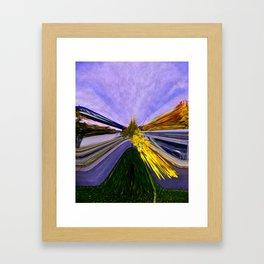 Abstracting Autumn Framed Art Print