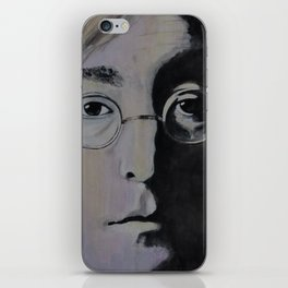 Life is never easy for those who dream iPhone Skin