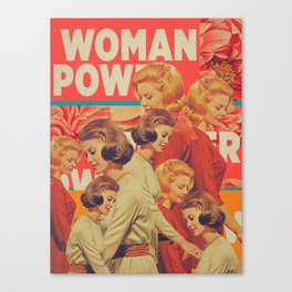Woman Power Canvas Print