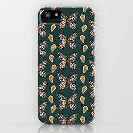 Mary's Butterfly Garden iPhone Case