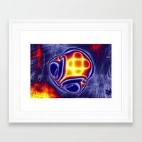 ufo Framed Art Prints featuring ufo by donphil