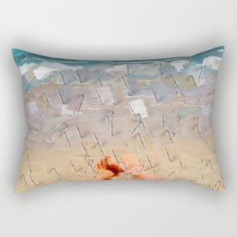 Beach Impressions Rectangular Pillow