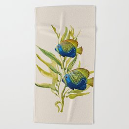 Fishes 2 Beach Towel