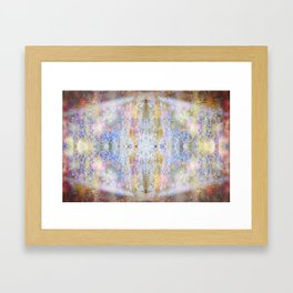 .glow. Framed Art Print