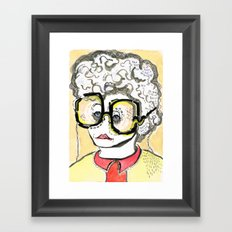 Get Yourself A Poodle Framed Art Print
