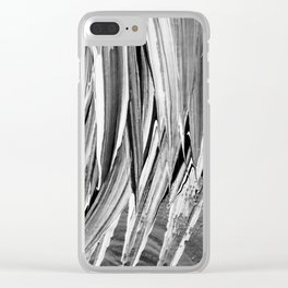 Painted Chaos Clear iPhone Case