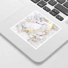 Original Gold Marble Sticker