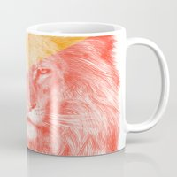 eric fan Mugs featuring Wild 3 - by Eric Fan and Garima Dhawan by Eric Fan