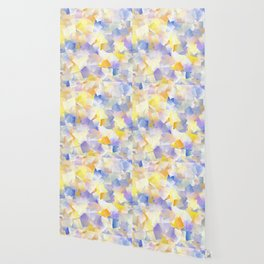 Spring Daffodil Flowers In Cubes Wallpaper