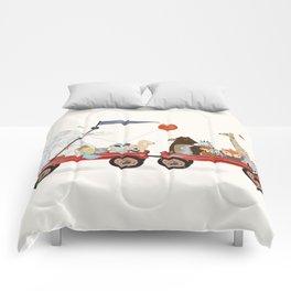 a little breeze Comforters