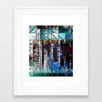 portlandia Framed Art Prints featuring :: Portlandia :: by :: GaleStorm Artworks ::