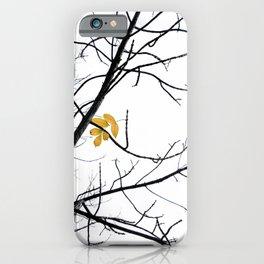 Clinging iPhone Case