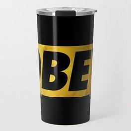 OBEY Bleeding Gold Travel Mug