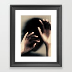 The Last Goodbye Framed Art Print