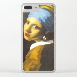 Girl with the Pearl Earring Original Clear iPhone Case