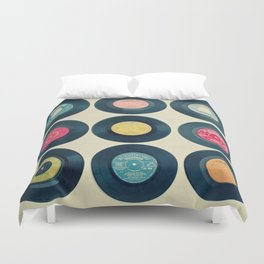 Vinyl Collection Duvet Cover