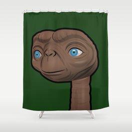 Contented ET Shower Curtain