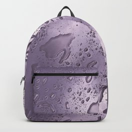 rainwater on glass gradient 0884 Backpack