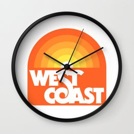 West Coast Wall Clock