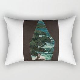 Into Stormy Seas Rectangular Pillow