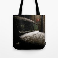 truck Tote Bags featuring Truck Stop by Michael G. Mitchener