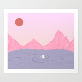 The Last Rose Of Summer Art Print
