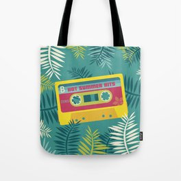 Hot Summer Hits - Retro Tape Tote Bag