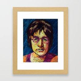 Imagine JohnLennon Framed Art Print