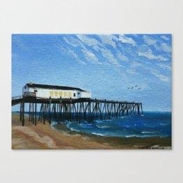 NC Beach Inspired 10 Canvas Print