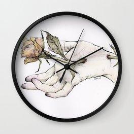 Impaled Wall Clock