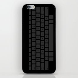Captain's Keyboard iPhone Skin