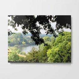 Richmond-upon-Thames river view Metal Print