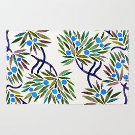 Bonsai Fruit Tree – Blue Palette Rug