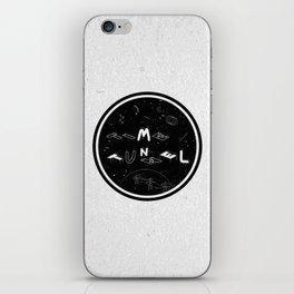 TIME TUNNEL iPhone Skin