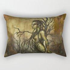 Dark Dryad Rectangular Pillow