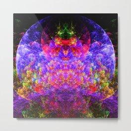 Energy sphere absorbing entities Metal Print