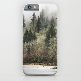 Pacific Northwest Forest River - 24/365 iPhone Case