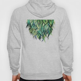 """Spring Forest of Surreal Leaf"" Hoody"