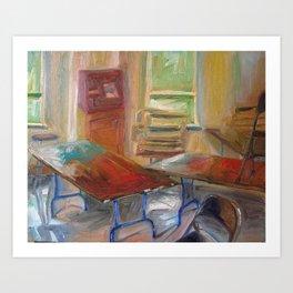 Light Room Art Print