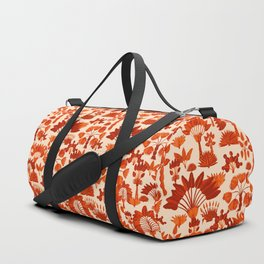 Exotic Garden - Orange Duffle Bag