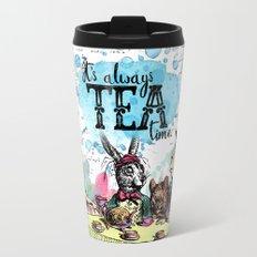 Alice in Wonderland - Tea Time Metal Travel Mug