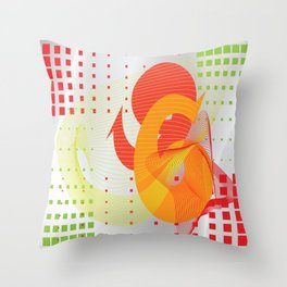 66 Throw Pillow