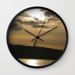 The Final Shore Wall Clock