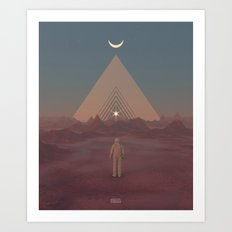 Lost Astronaut Series #01 - Enter the Void Art Print