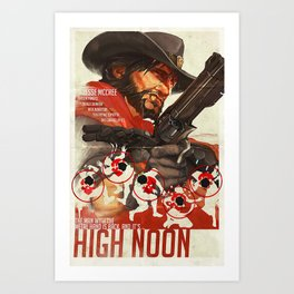 High Noon Art Print