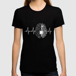 Machine Learning AI Data Science Heartbeat Data Engineer design T-shirt