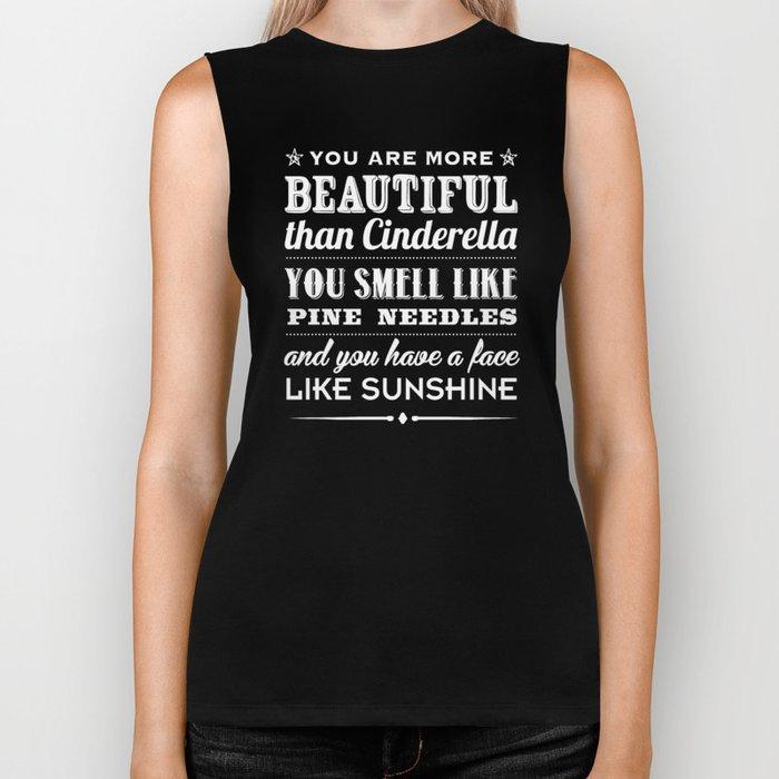 Sunshine Face Biker Tank