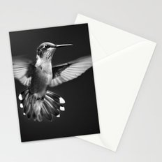 Fantail Hummingbird Stationery Cards