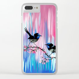 Soft Colors Clear iPhone Case